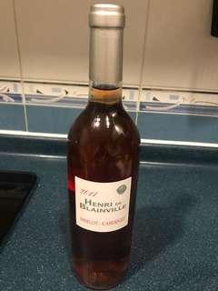 法國rose(玫瑰酒)750ml(每支$50 共兩支可散買)