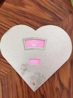 Be My Valentine紀念車票