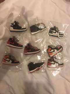 Air Jordan keychains