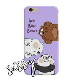 [WBBEARS1] WE BARE BEARS PHONE CASE