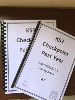 Key Stage 3 Checkpoint past years