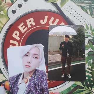 WTT Super Junior Replay Repackage / Special Edition PC & CD