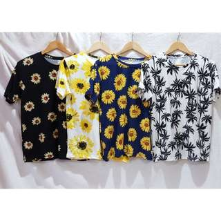 Sunflower Oversized Cotton Shirts