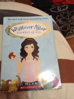 Whateverafter scholastic book
