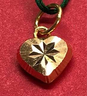 Gold 916 - heart-shaped Locket ❤️❤️