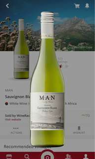 M.A.N. Warrelwind Sauvignon Blanc 2016 (8支,$60@)