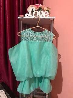 Makaio organza blouse