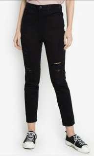 PENSHOPPE High Waist Ripped Jeans
