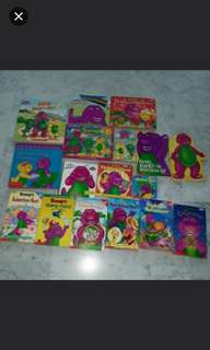 Barney Books