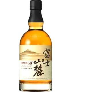 日本麒麟 Kirin 富士山麓 (700ML) 黑頭威士忌 Fujisanroku Japanese Whisky