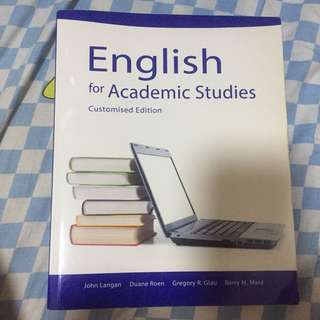 90% new English for Academic Studies