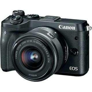 Canon Eos M6 Lengkap Bisa Cicilan Cukup 3Menit