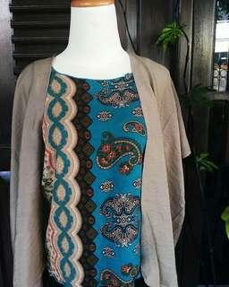 Paket Ramadan 14 ( baju + cardigan simpel)