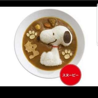 Snoopy Rice Mould Set