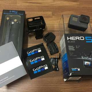 🚚 Gopro hero 5 black conditions Nice, selling or rate with which equates
