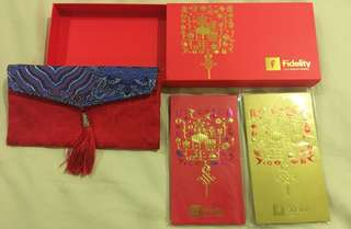 Fidelity red packet set