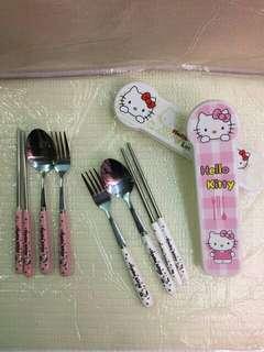 Hello Kitty Spoon Set