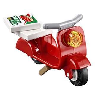 Lego 60150 Pizza Van - Red Scooter