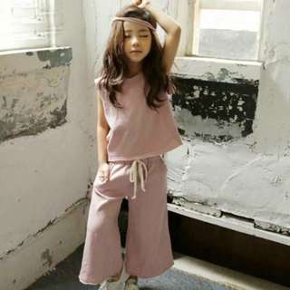 🎀小寶貝無袖棉質套裝🎀