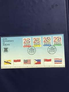 Singapore FDC as In Pictures