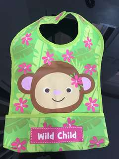 Wild Child Washable Bib (waterproof)