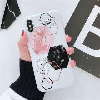 [PC] Geometric Hexagon Phone Case (#GEO-414)