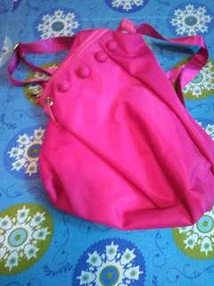 Pink backpavk