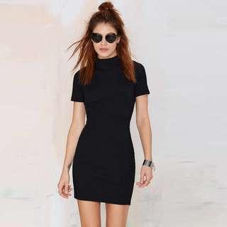 Black Sexy back lady dress