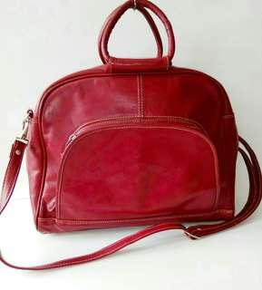 Preloved Tas Bag No Name Merah