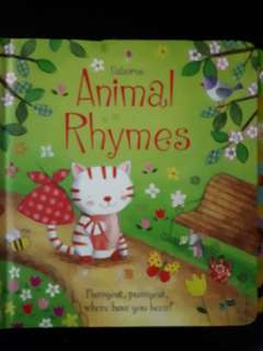 Animal Rhymes - Board book - Clearance