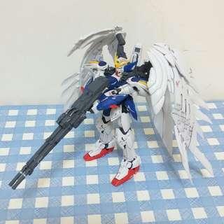高達 RG -144 wing Zero gundam 完成品