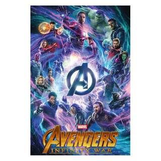 Infinity war movie poster full size alternative design
