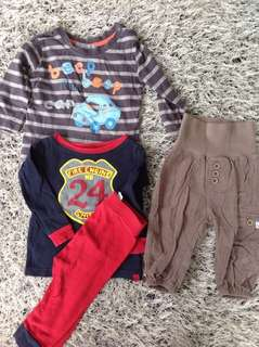 Boy Clothes - Pumpkin Patch, Baby Gap, HnM