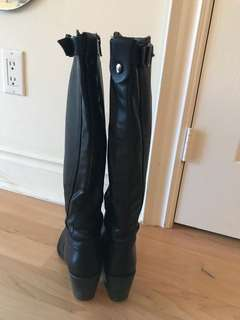 Riding boot - made in Italy; size 6