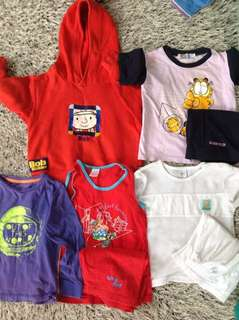 Boy's combo - Mothercare, Garfield, Tom n Jerry, Cuddles