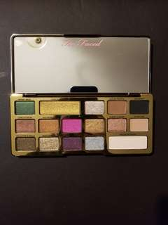 Too faced chocolate gold bar palette.