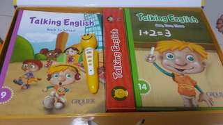 Grolier Talking English 20 books