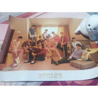 READY STOCK WANNA ONE OFFICIAL POSTERS!