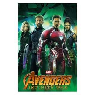 Infinity war movie posters alternative group designs