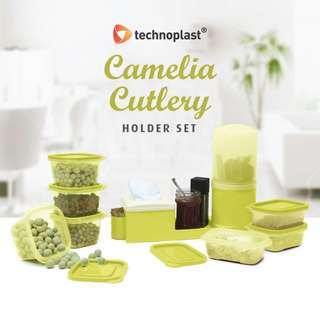 Technoplast Camelia Cutlery Holder Set