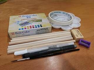Sakura Watercolor Paint 18 colors Set