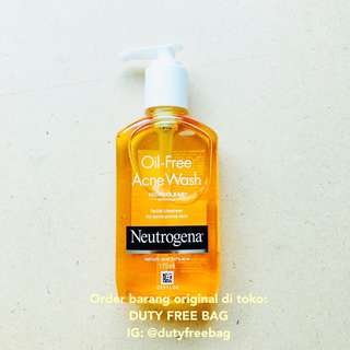 Neutrogena Oil Free Face Wash