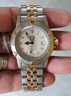 Authentic preloved Tag Heuer Mens Two Tone Quartz