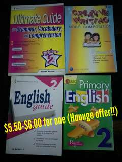 Workbook/textbooks for primary 2ss