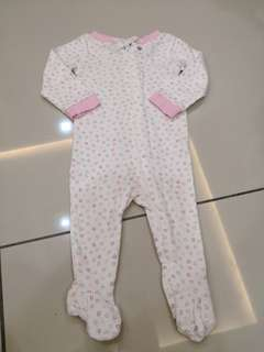 First Moments Baby Sleepsuit (3-6m)