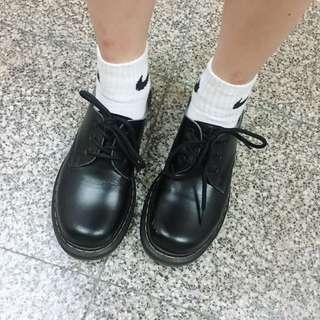 🚚 #二手 低筒馬丁鞋 皮鞋 學生鞋