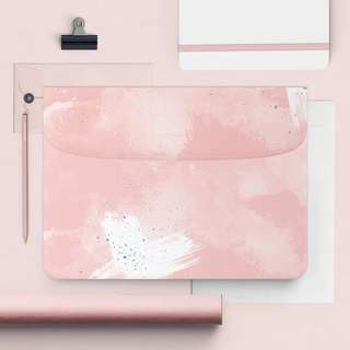 Slim Coloursplash Laptop Cover (Pink)