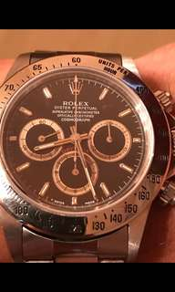 Rolex Daytona Patrizzi S serial inverted 6 full set