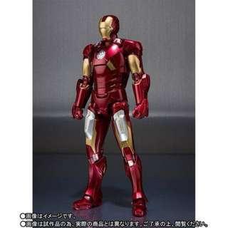 PRE-ORDER : Bandai Tamashii Exclusive - S.H.Figuarts (Iron Man) - Iron Man Mark 7
