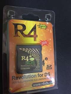 WTS R4 RTS 3DS